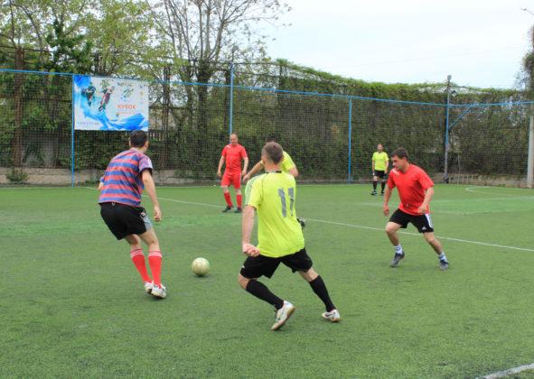 Стартовало Первенство города среди ветеранов по мини-футболу 2019 года