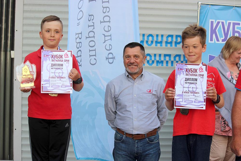 Артём Черпита – победитель Всероссийских соревнований «Кубок яхт-клуба «Сочи»