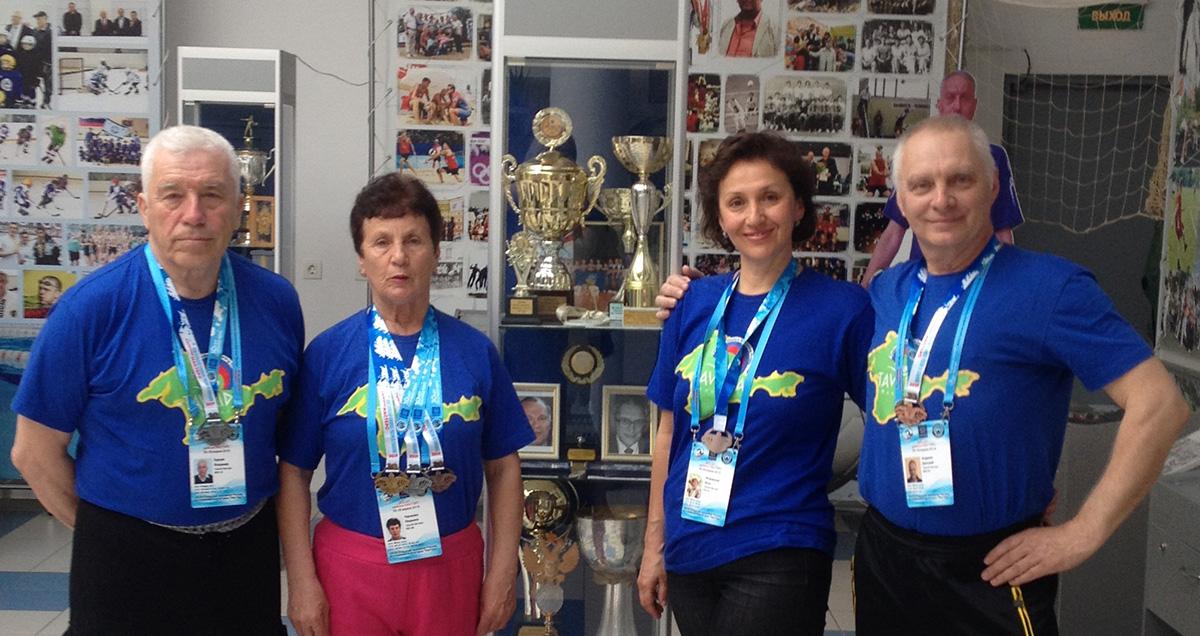 Чемпионат России по плаванию в категории «Мастерс»