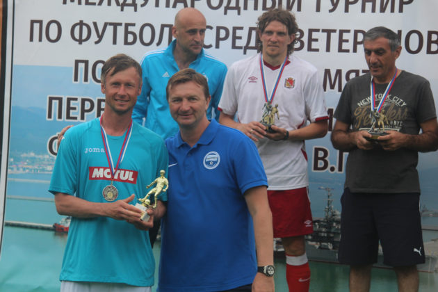 Севастопольский «Зенит» - второй на Международном турнире по футболу среди ветеранов