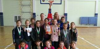 Бронзовые призеры Всероссийского турнира по баскетболу