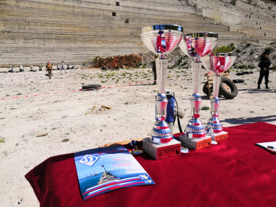 Сборная Росгвардии стала призёром севастопольского межведомственного чемпионата по служебному двоеборью