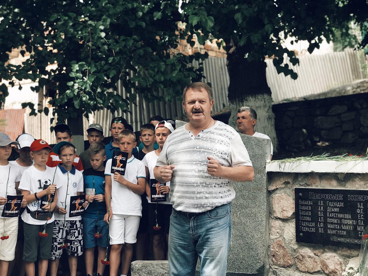 2 25 - В Севастополе прошёл митинг-реквием в память первых жертв Великой Отечественной войны