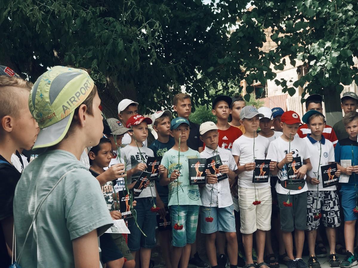 3 18 0 - В Севастополе прошёл митинг-реквием в память первых жертв Великой Отечественной войны