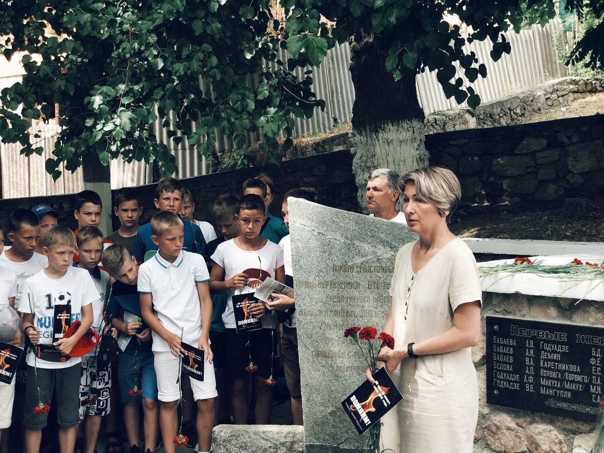 6 shcherbakova - В Севастополе прошёл митинг-реквием в память первых жертв Великой Отечественной войны