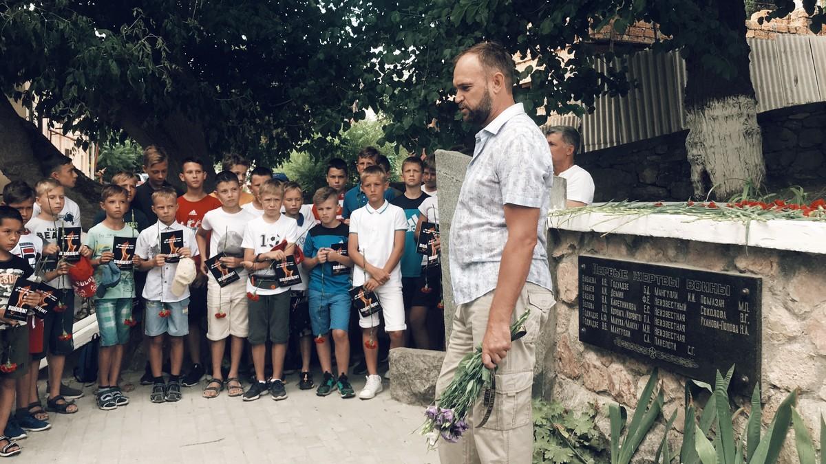 7 dobrovolec - В Севастополе прошёл митинг-реквием в память первых жертв Великой Отечественной войны