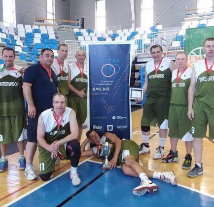 Золотые медали чемпионата Европы по баскетболу едут в Севастополь!