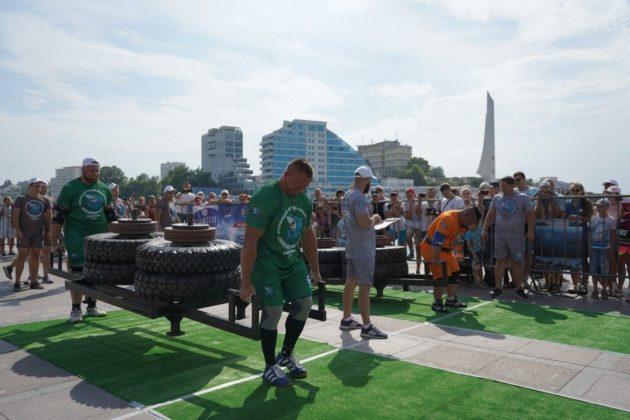 В Севастополе стартовал Международный фестиваль силового экстрима «Евразийские игры»