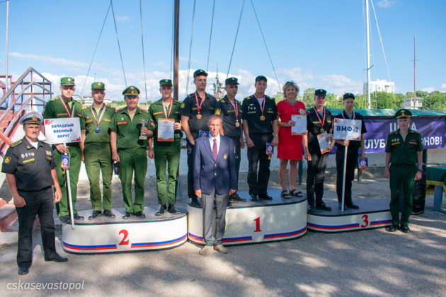 В Севастополе завершился Кубок ВС РФ по международному военно-морскому пятиборью
