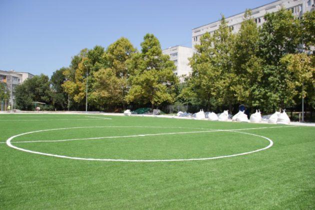 В Севастополе продолжается модернизация спортивной базы образовательных учреждений