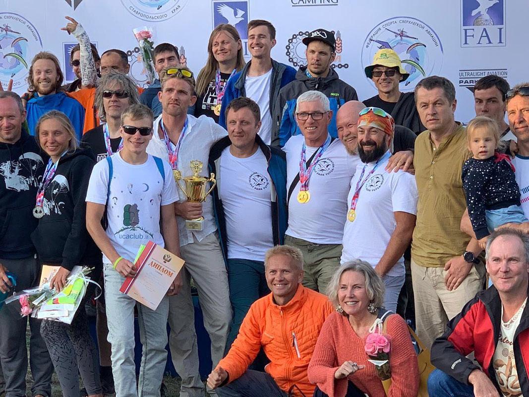 Сборная Севастополя по спорту сверхлёгкой авиации стали чемпионами России