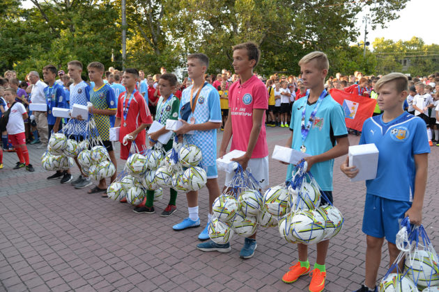 30 08 2019 dyfl 37 630x420 - В начале сентября стартуют соревнования ДЮФЛ Севастополя