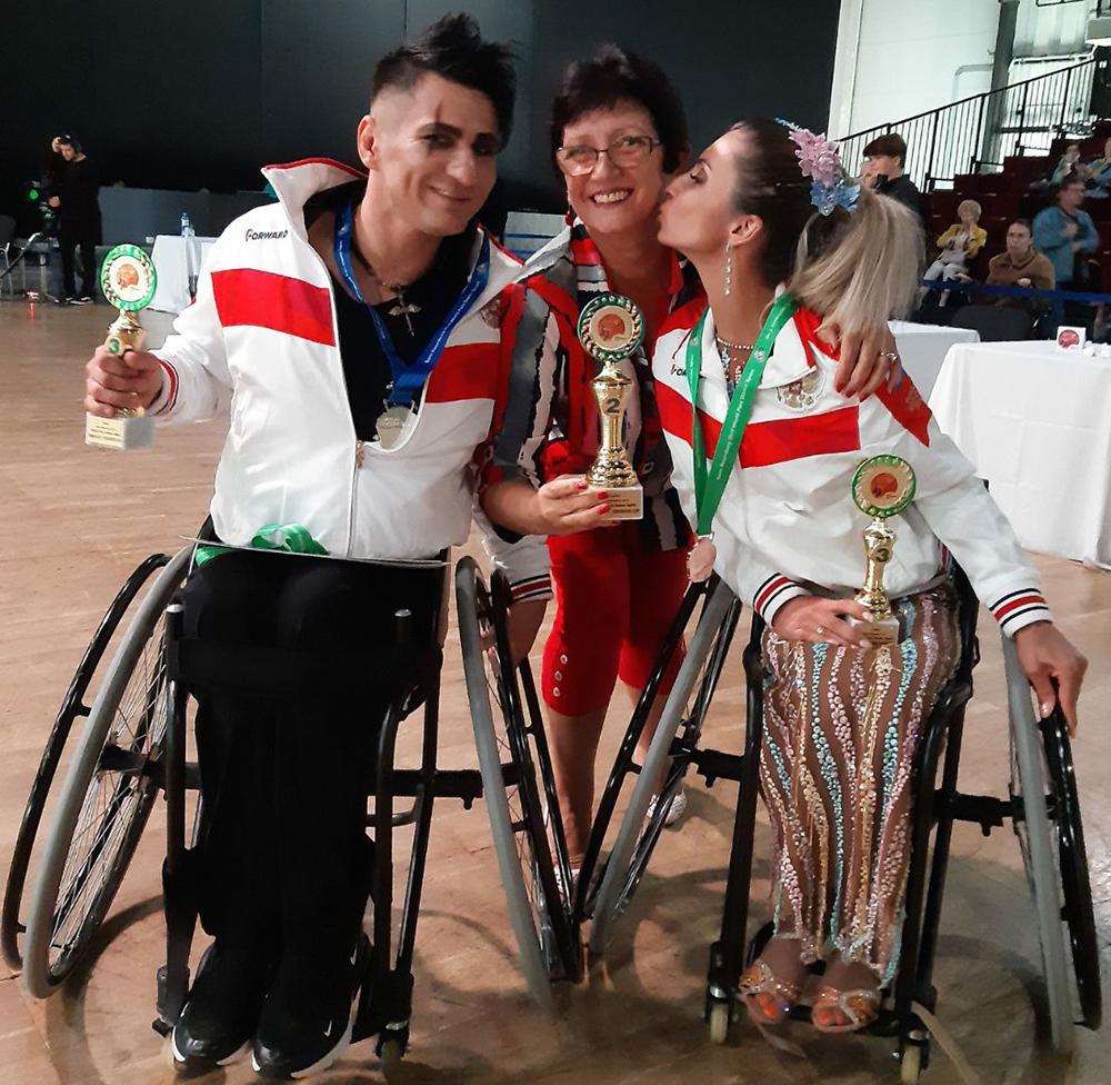 Севастопольские паралимпийцы завоевали медали на Кубке мира по танцам на колясках