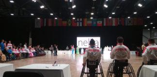 С Кубка мира по танцам на колясках