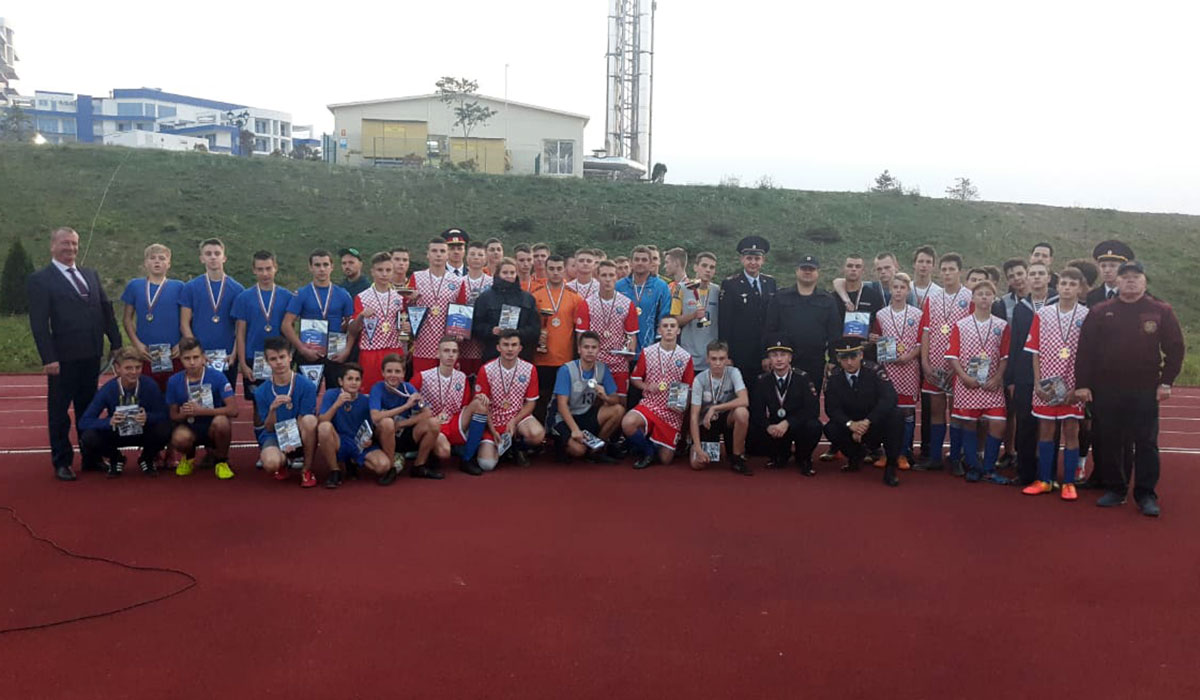 В Севастополе прошел Фестиваль футбола «Кадетское братство – 2019»