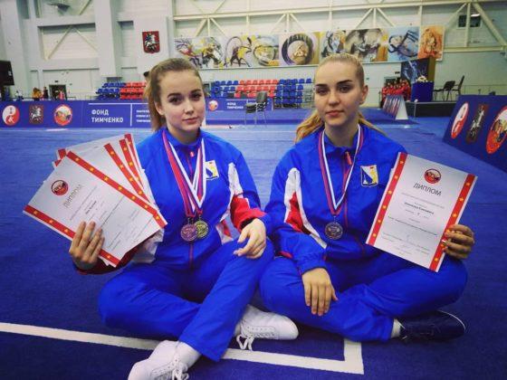 Севастопольские спортсменки вернулись с медалями с Всероссийского турнира по ушу