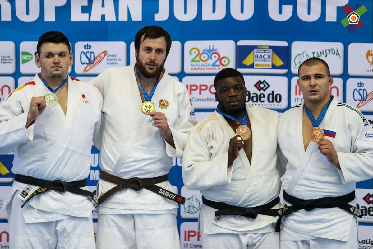 Александр Шалимов из Севастополя стал призером Кубка Европы по дзюдо в Малаге