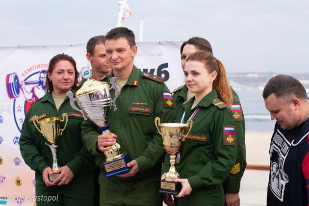 В Севастополе завершился чемпионат ВС РФ по пауэрлифтингу (троеборью классическому)