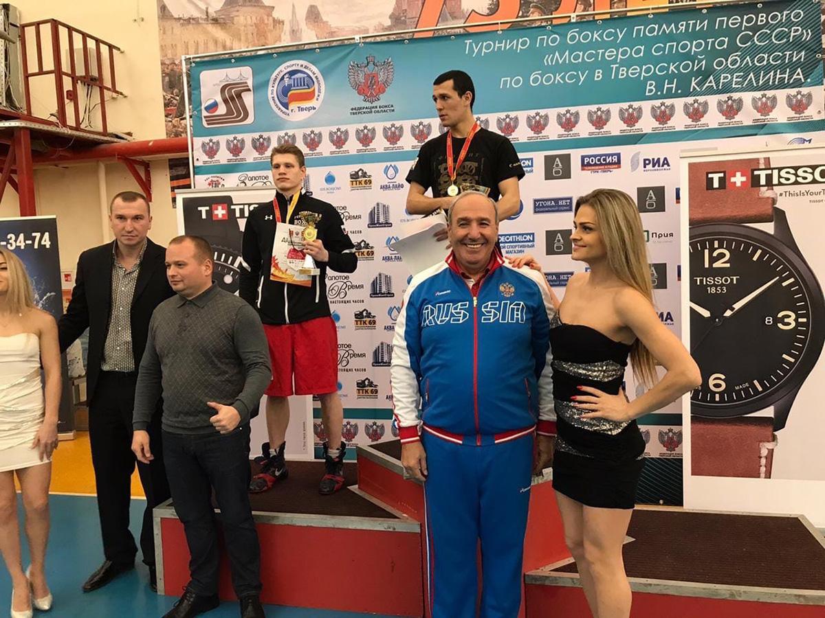 У севастопольских боксеров еще две медали на соревнованиях в Твери